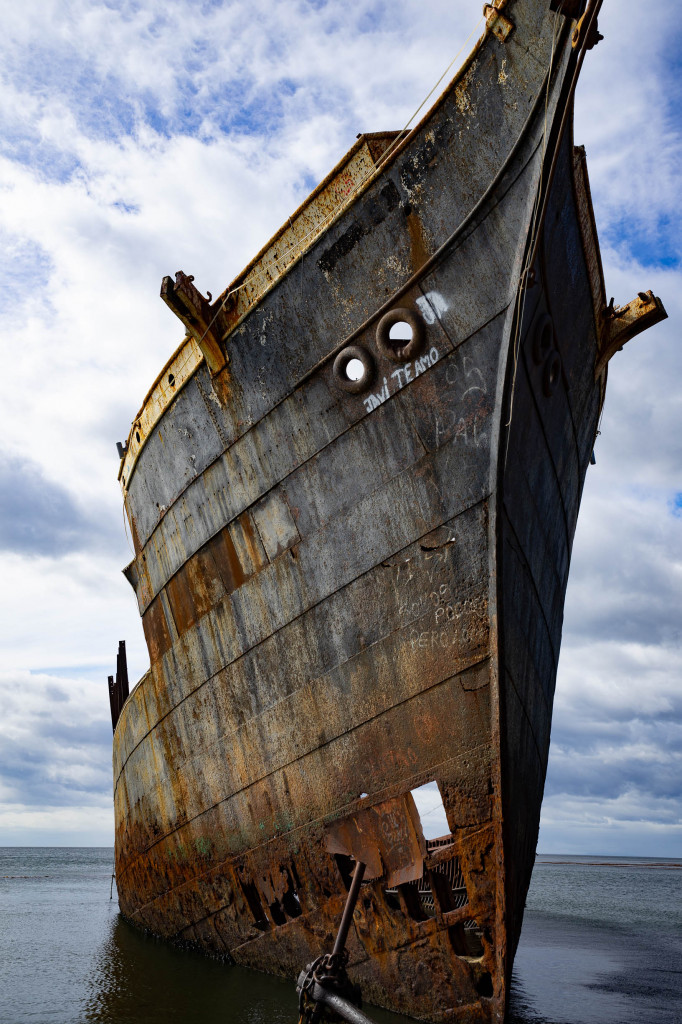 schiffswrack in der maggelanstrasse